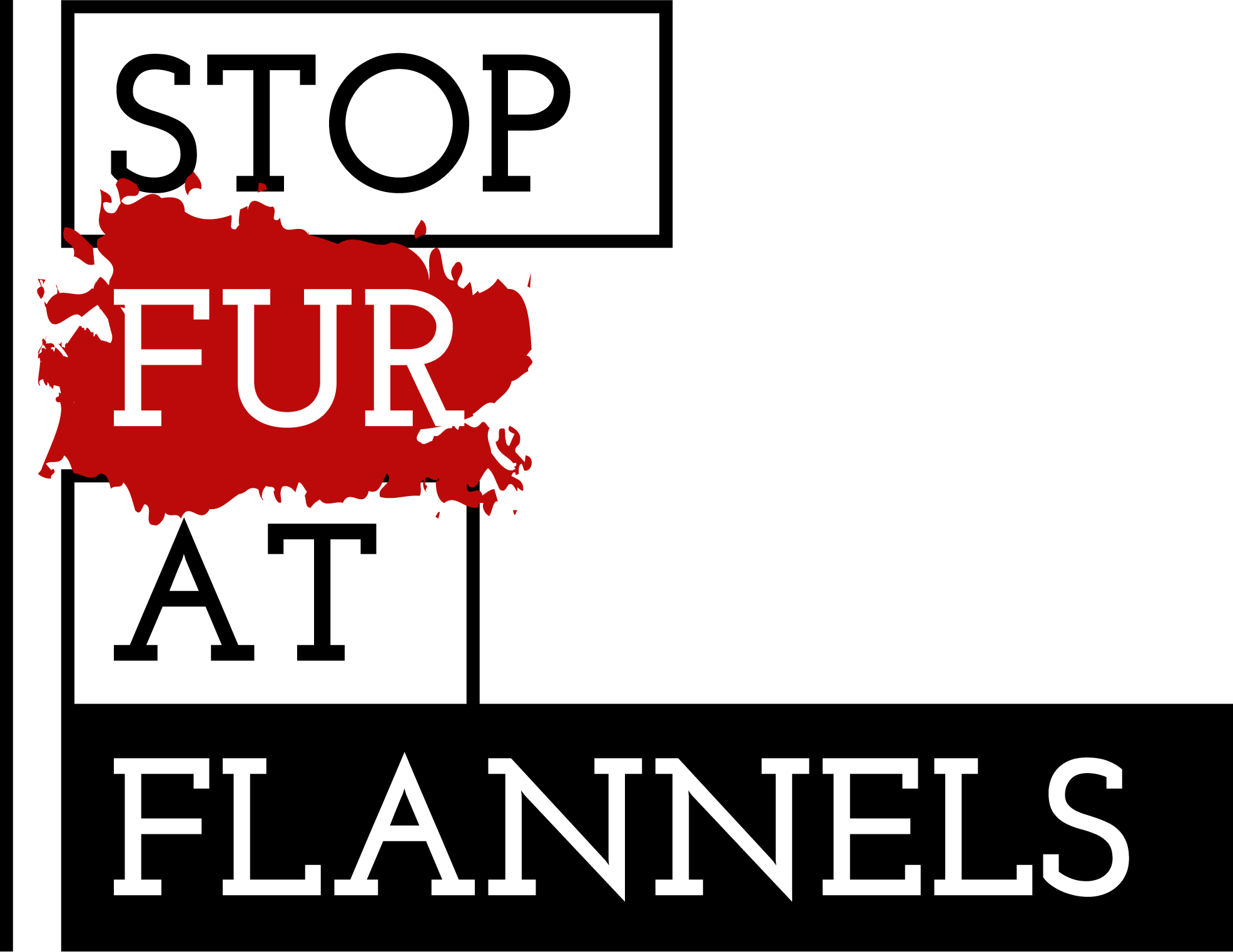 Stop Fur At Flannels